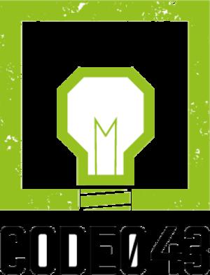 CODE043 logo